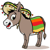 Mexican donkey Stock Images
