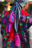 Mexican Dress - Zinacantan Chiapas Mexico Royalty Free Stock Photo