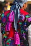 Mexican Dress - Zinacantan Chiapas Mexico Royalty Free Stock Photo