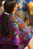 Mexican Dress - Zinacantan Chiapas Mexico Royalty Free Stock Photography