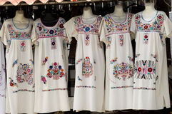 Mexican Dresses Royalty Free Stock Image
