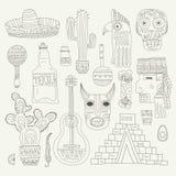 Mexican Elements vector illustration