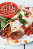 Mexican enchilada Stock Images