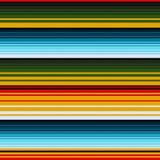 Mexican ethnic striped seamless pattern. Traditional folk handmade woven ornament. Vector illustration stock illustration