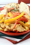 Mexican fajitas Stock Photography