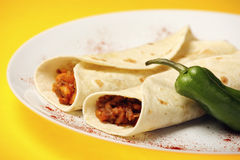 Mexican fajitas Stock Images