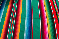 Mexican festive fabric cloth Royalty Free Stock Images
