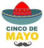 Mexican fiesta banner and poster design. Eps 10 Royalty Free Stock Photography