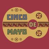Chinco de Mayo royalty free illustration
