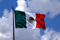 Free Mexican Flag Royalty Free Stock Photography - 92007