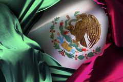 Mexican flag, independence day, cinco de mayo celebration stock photography