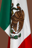 Mexican flags close up. Mexican Flags, 5 de Mayo, celebration of Mexican heritage stock photos