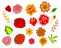 Mexican Flowers Royalty Free Stock Images