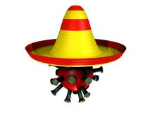 Mexican flu Royalty Free Stock Images