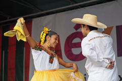 Mexican folkloric ballet Stock Photos