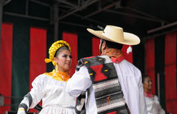 Mexican folkloric dance Royalty Free Stock Photography