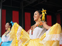 Mexican folkloric dancer Royalty Free Stock Photos