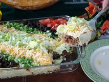 Mexican Food. Image of delicious mexican food Royalty Free Stock Photo
