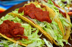Mexican Food and Cuisine - Taco Stock Images