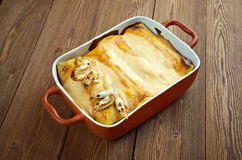 Mexican food enchiladas Stock Image