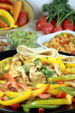 Mexican food feast royalty free stock images