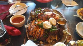 Mexican food. Grilled royalty free stock photography