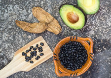 Mexican food ingredients Royalty Free Stock Photography