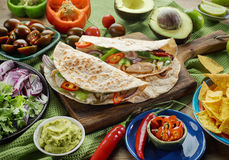 Mexican food ingredients stock photography