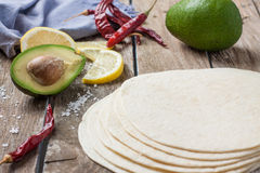 Mexican food ingredients Stock Photos