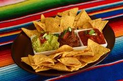 Mexican Food - Nachos Royalty Free Stock Photo