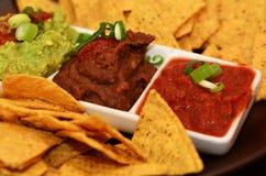 Mexican Food - Nachos Stock Photos