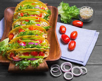 Mexican food tacos Stock Photo