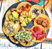 Mexican Food Tacos Royalty Free Stock Photography