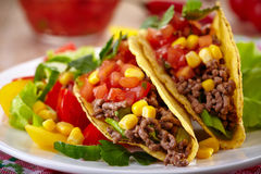 Mexican food Tacos Stock Photography
