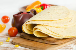 Mexican food - tortilla Stock Photography