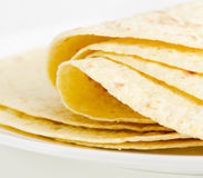 Mexican food - tortilla. selective focus Royalty Free Stock Photo