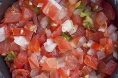 Mexican fresh salsa Stock Photography