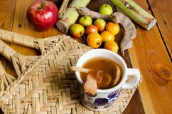 Free Mexican Fruit Punch Composition Royalty Free Stock Image - 104695066