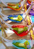 Mexican funny colorful souvenirs accessories decoration Kid stuff. And Lifestyle and mexican handwork frogs stock image