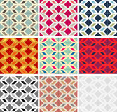 Mexican geometrical pattern master collection Royalty Free Stock Photography