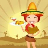 Mexican girl Royalty Free Stock Photos