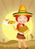 Mexican girl Stock Photos