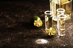 Mexican Gold Tequila Stock Images
