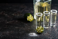 Mexican Gold Tequila Stock Image