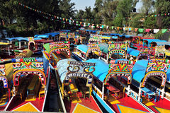 Mexican Gondolas, Mexico Royalty Free Stock Photography