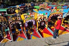 Mexican Gondolas, Mexico Stock Image