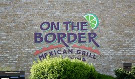 Mexican Grill, On The Border Royalty Free Stock Image