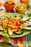 Mexican Grilled Shrimp Salad Stock Images