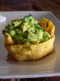 Mexican guacamole royalty free stock photo