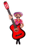 Mexican guitar player Royalty Free Stock Images